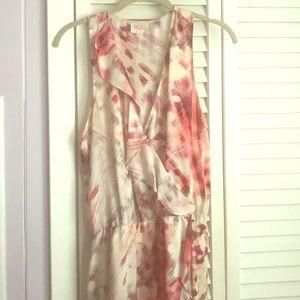 Parker print high low ruffle dress ❤️